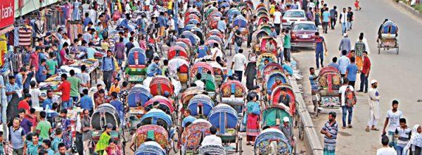 যানজট নিরসনে ঢাকার গুরুত্বপূর্ণ ২ রুটে বন্ধ হচ্ছে রিকশা চলাচল
