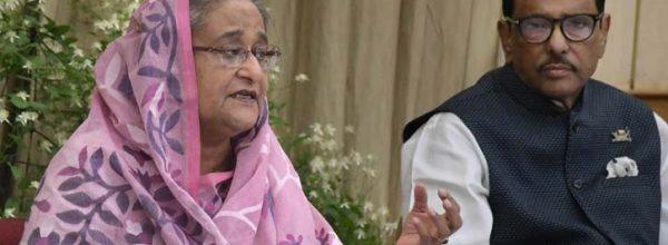 খালেদা জিয়া সন্ত্রাসের গডমাদার: প্রধানমন্ত্রী